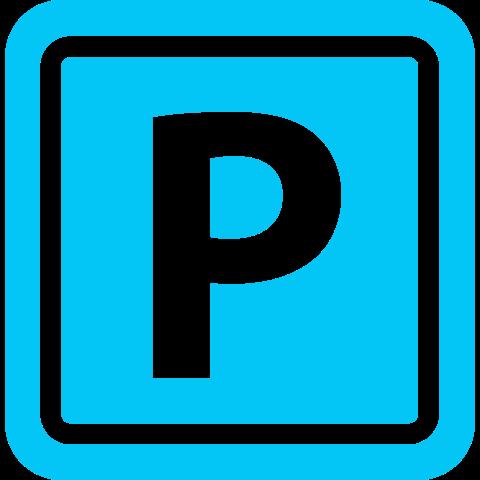 icona parcheggio azzurro
